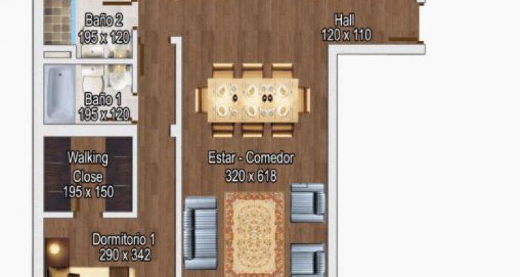 depto 3 dormitorio